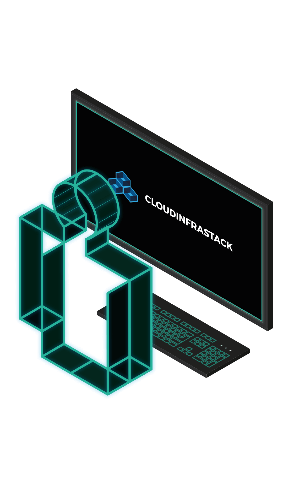 cloudinfrastack user and computer